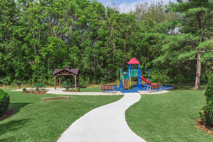 Large Play Area at Sussex Downs in Franklin, Tennessee