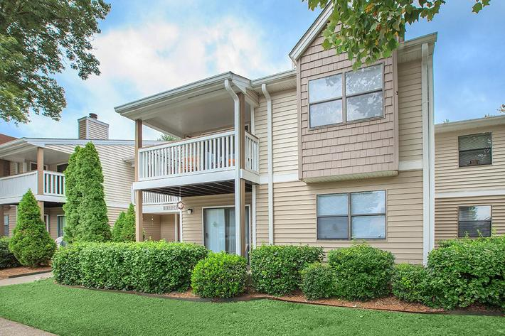 Patios and Balconies at Sussex Downs in Franklin