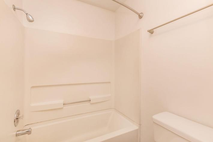 Sleek Bathrooms Here at Woodbridge Maple at Sussex Downs in Franklin, TN
