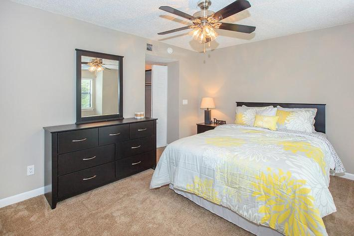 Ceiling Fans with Lights in the Bedrooms