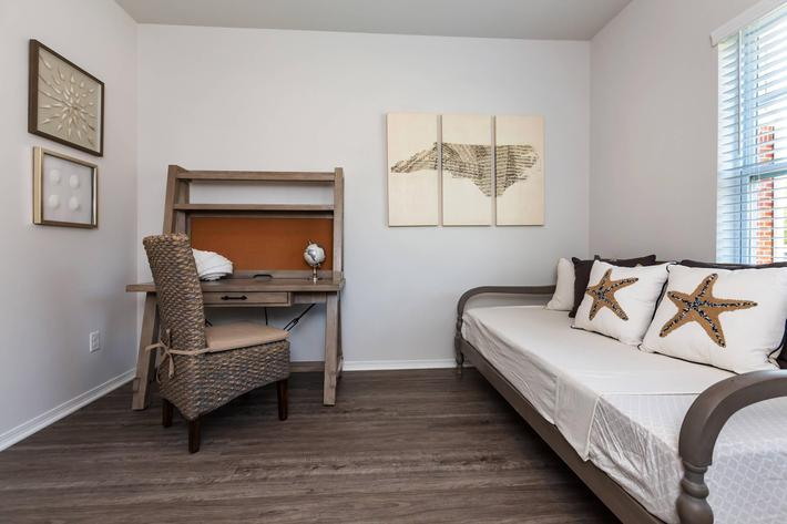 Cozy Bedroom At New Providence Park In Wilmington, NC
