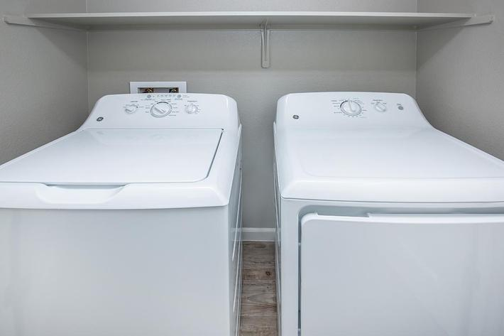 Washer-Dryer in Home