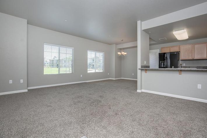 Three Bedroom Floor Plan at Vintage Park