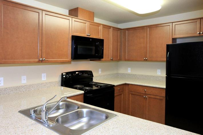 Greystone Apartments offers all-electric kitchens