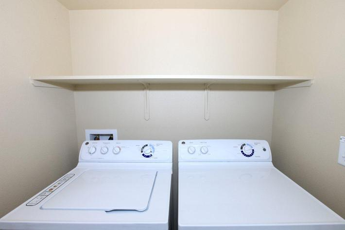 Greystone Apartments offers washers dryers inside their homes