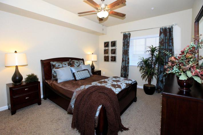 We offer cozy bedrooms at Greystone Apartments