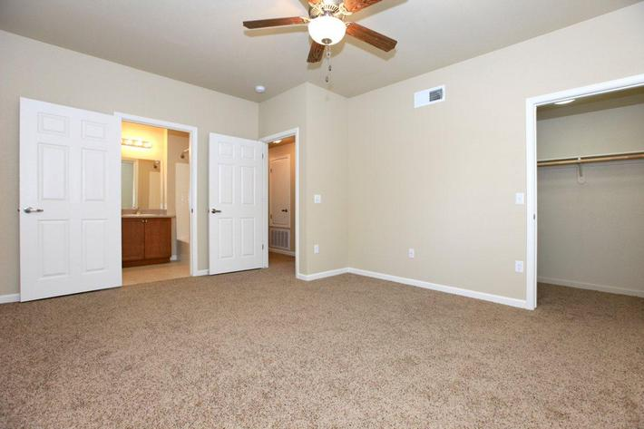 Greystone Apartments provides ceiling fans