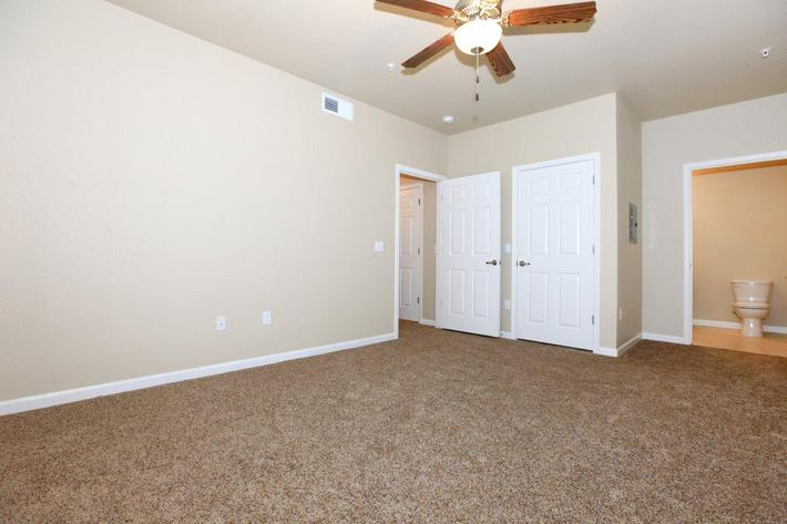Greystone Apartments has carpeted floors