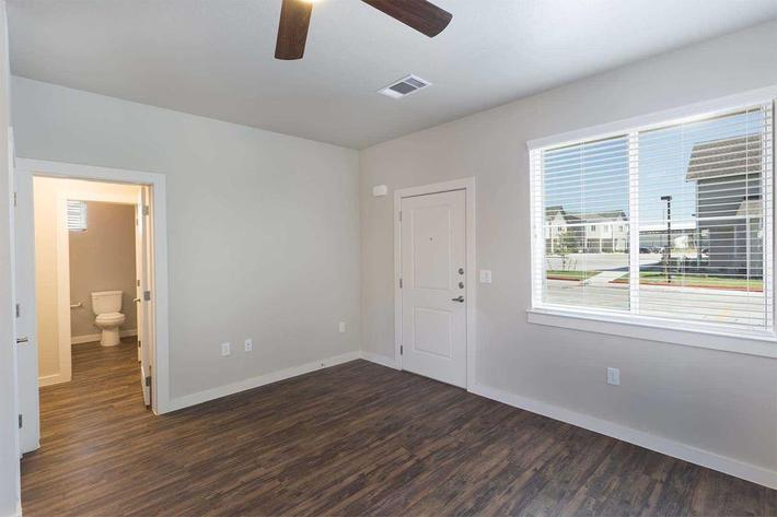 SPACIOUS THREE BEDROOMS WITH  CEILING FANS
