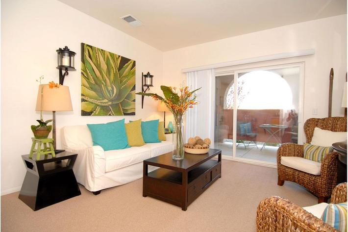 Rio Paseo offers spacious living rooms