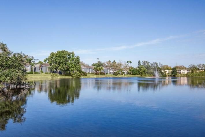 Beautiful views at Arbor Oaks Apartments in Bradenton, FL.