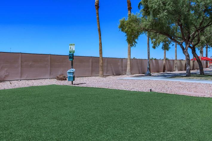 PET WASTE AREA AT BOCA RATON IN LAS VEGAS, NEVADA