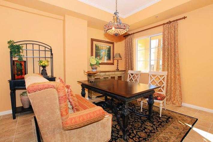 Dining area at Boca Raton