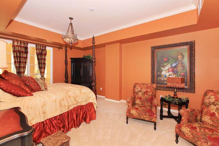 Elegant bedroom at Boca Raton