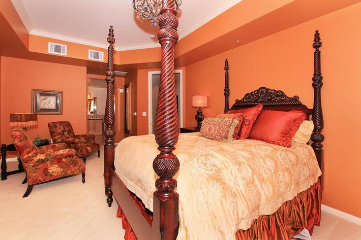 LUXURIOUS BEDROOM AT BOCA RATON IN LAS VEGAS, NEVADA