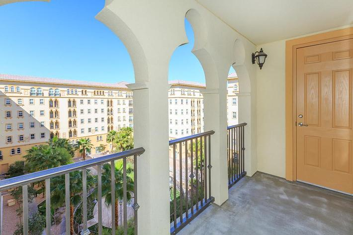 BALCONY OR PATIO AT BOCA RATON IN LAS VEGAS, NEVADA
