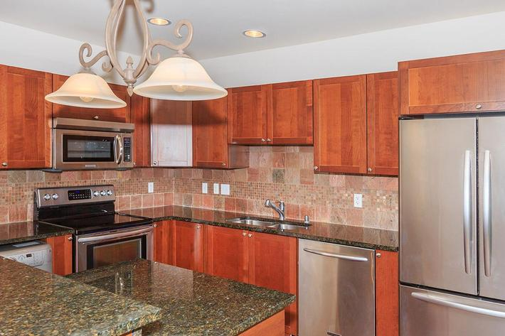 KITCHEN WITH A PANTRY AT BOCA RATON IN LAS VEGAS, NEVADA