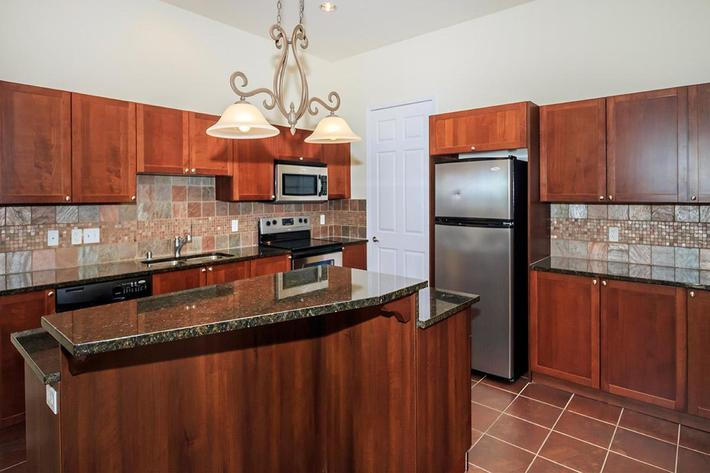 BEAUTIFUL KITCHEN CABINETS AT BOCA RATON IN LAS VEGAS, NEVADA