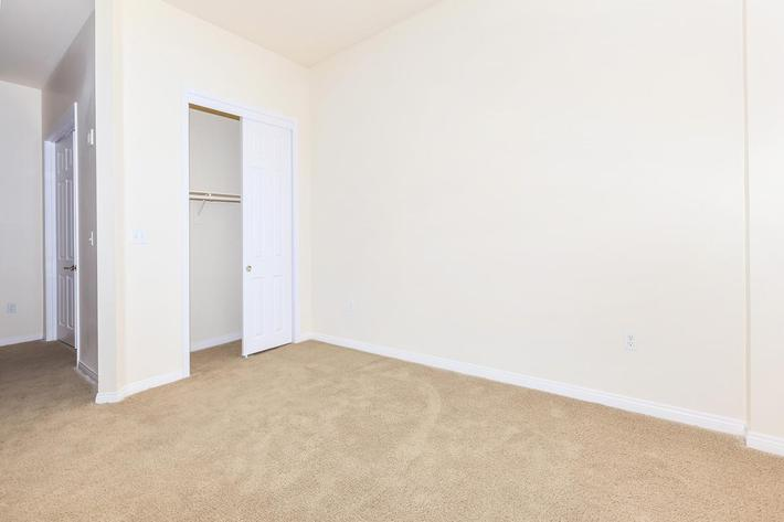 CARPETED ROOM WITH CLOSET SPACE AT BOCA RATON IN LAS VEGAS, NEVADA