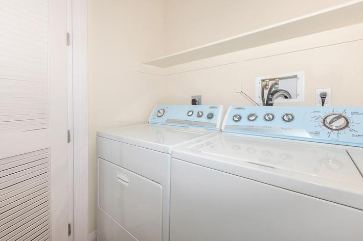 WASHER AND DRYER IN HOME AT BOCA RATON IN LAS VEGAS, NEVADA