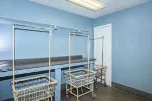 Carts Are Available In The Laundry Room