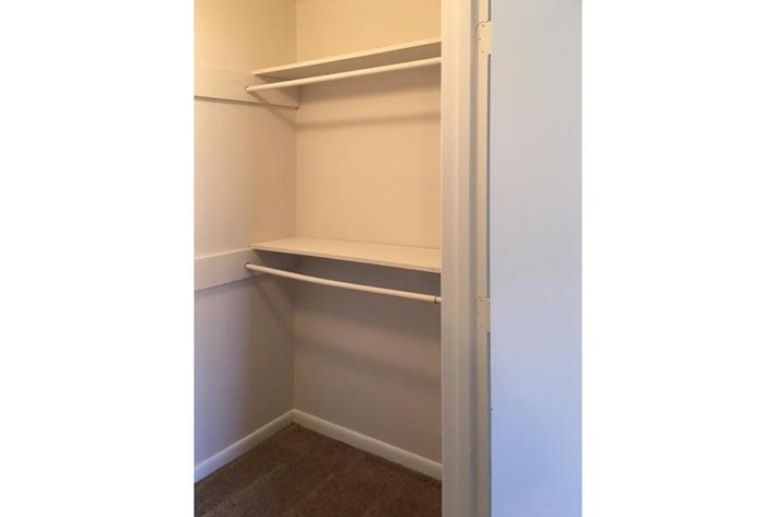 Ample Storage Space
