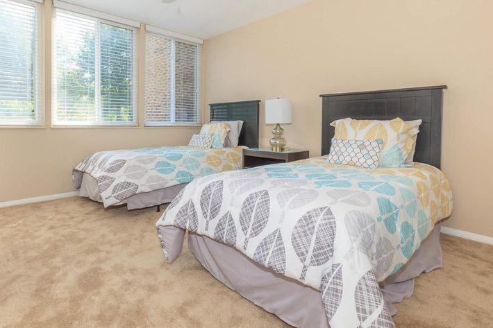 Plush Carpeting in Bedrooms