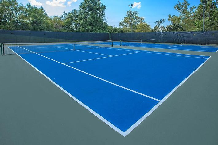 Tennis Courts at Windover In Knoxville, Tennessee