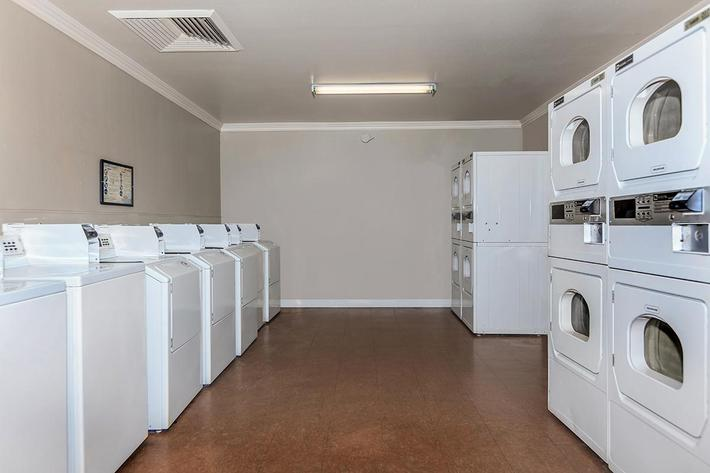 LAUNDRY FACILITY AT BELLA ESTATES APARTMENT HOMES IN LAS VEGAS, NEVADA