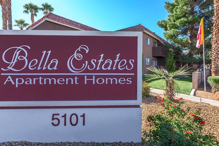 WELCOME TO YOUR NEW HOME AT BELLA ESTATES APARTMENT HOMES IN LAS VEGAS, NEVADA