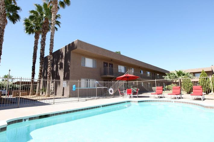 Bella Estates Apartment Homes offers you a shimmering swimming pool