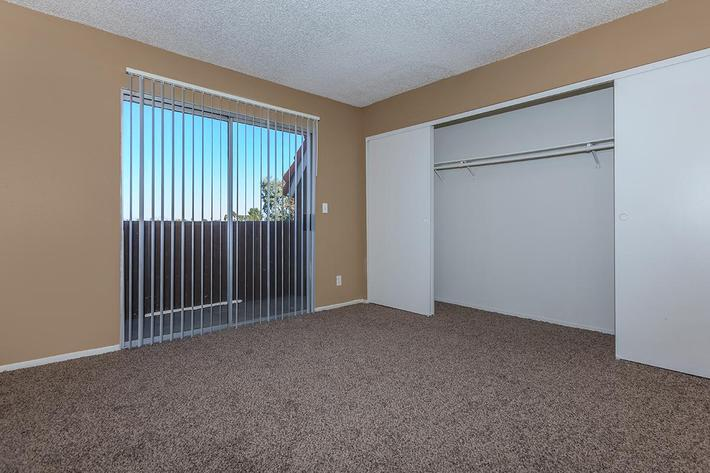 VERICAL BLINDS AT BELLA ESTATES APARTMENT HOMES IN LAS VEGAS, NEVADA
